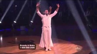 Brandy Norwood & Maksim Chmerkovskiy - Waltz - Week 8