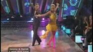 Jennie Garth & Derek Hough Week 5 Samba