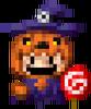 Pumpkin Witch Set
