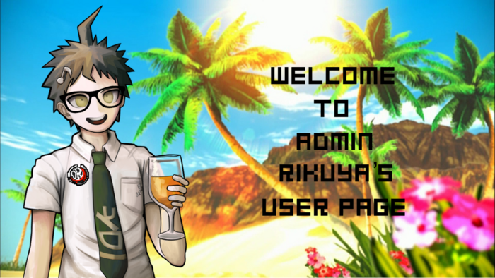 Rikuya - User Page Welcome