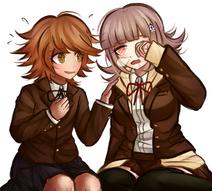 Chihiro and Chiaki by kurokku-tokei