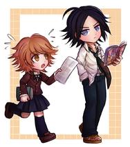 Chihiro and Yasuke by kurokku-tokei 2