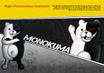 Promo Profiles - Danganronpa 1 (English) - Monokuma