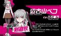 Promo Profiles - Danganronpa 3 Despair Arc (Japanese) - Peko Pekoyama