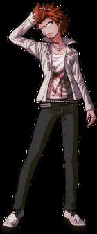 Danganronpa 1 Leon Kuwata Fullbody Sprite (PSP) (14)