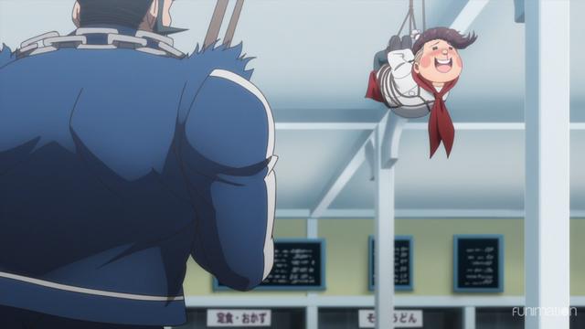 File:Danganronpa 3 Side Despair Episode 01 Teruteru Hanamura tied up by Chisa and Nekomaru.png