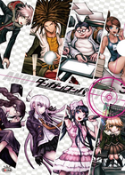 Danganronpa Another Story Drama CD Cover White Version Clear File Front