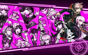 Digital MonoMono Machine Danganronpa 1 Cast PC wallpaper