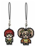 FuRyu Minna no Kuji Dot Rubber Mascots Mahiru Koizumi and Hiyoko Saionji OOB