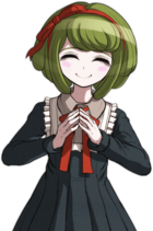 Danganronpa Another Episode Monaca Towa Halfbody Sprite (Vita) (2)