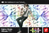 Danganronpa V3 Bonus Mode Card Hajime Hinata U ENG