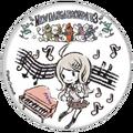 GraffArt Can Badge Kaede Akamatsu