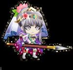 Sengoku Asuka Zero x Danganronpa 3 Kyoko Kirigiri Sprite
