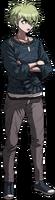 Danganronpa V3 Rantaro Amami Fullbody Sprite (10)