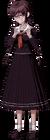 Danganronpa 1 Toko Fukawa Full Body Sprite (PSP) (11)