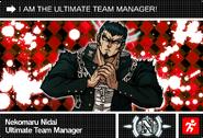 Danganronpa V3 Bonus Mode Card Nekomaru Nidai N ENG
