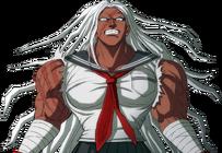 Danganronpa V3 Bonus Mode Sakura Ogami Sprite (2)