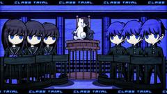 Danganronpa V3 CG - Monokuma and the Monokubs explaining the Class Trial