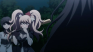 Despair Arc Episode 7 - Junko acting shy with Izuru