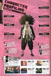 Danganronpa 1 Yasuhiro Hagakure Character Design Profile Danganronpa 1.2 Art Book