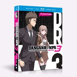 Danganronpa 3 Funimation Blu-Ray Despair Arc Cover