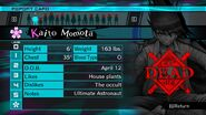 Kaito Momota Report Card Deceased (For Shuichi)