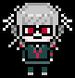 Danganronpa 2 Island Mode Peko Pekoyama Pixel Icon (1)