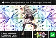 Danganronpa V3 Bonus Mode Card Kaede Akamatsu U FR