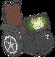 Danganronpa 3 Miaya Gekkogahara's Wheelchair