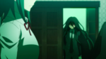 Despair Arc Episode 7 - Mukuro announcing for the Student Council to kill each other
