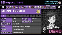 Mikan Tsumiki's Report Card (Deceased)