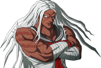 Danganronpa 1 Sakura Ogami Halfbody Sprite (PSP) (3)