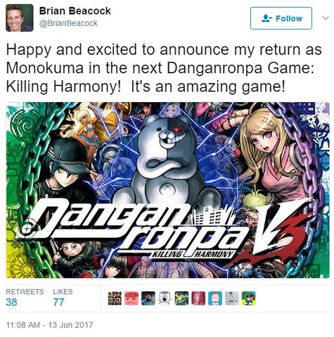 File:Danganronpa V3 Brian Beacock Monokuma VA Tweet.png