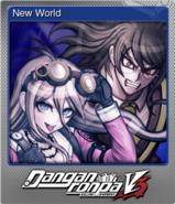 Danganronpa V3 Steam Foil Trading Card (8)