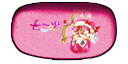 Princess Piggles glasses case