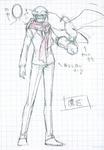 Danganronpa 3 - Character Profiles - SHSL Falconer (Sketches)