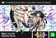 Danganronpa V3 Bonus Mode Card Mikan Tsumiki U ENG