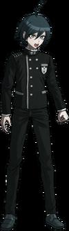 Danganronpa V3 Shuichi Saihara Fullbody Sprite (No Hat) (33)