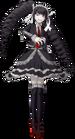 Danganronpa 1 Celestia Ludenberg Fullbody Sprite (PSP) (13)