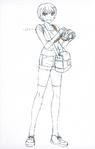 Danganronpa 3 - Character Profiles - Mahiru Koizumi (Despair design sketches)