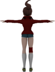 Danganronpa VR - Model - Aoi Asahina (2)
