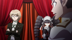 Danganronpa the Animation (Episode 05) - Byakuya Togami admitting tampering with the crime scene (18)
