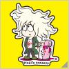 Danganronpa x Jun Watanabe Sticker Nagito Komaeda