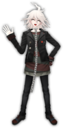 Nagito Komaeda Fullbody 3D Model (2)