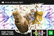 Danganronpa V3 Bonus Mode Card Angie Yonaga U ENG