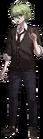 Danganronpa V3 Rantaro Amami Fullbody Sprite (High School Uniform) (4)