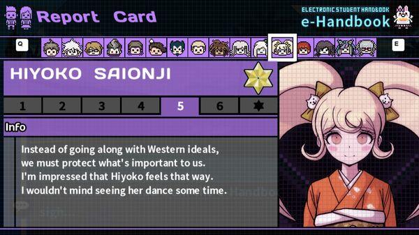Hiyoko Saionji's Report Card Page 5