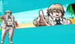 Web MonoMono Machine DR2 Twitter Background Byakuya Togami