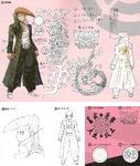 Danganronpa 1 Character Design Profile 1.2 Reload Artbook Mondo Owada