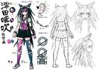 Danganronpa 2 Character Design Profile Ibuki Mioda